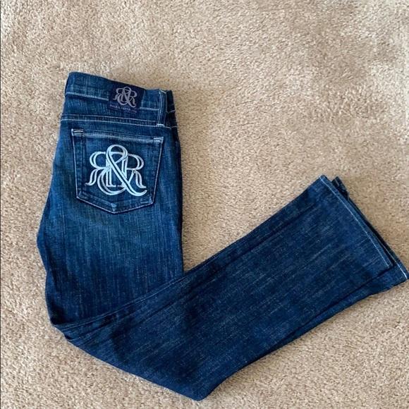 Rock & Republic Denim - Rock and Republic 'Kasandra' Wide Leg Jeans sz 27
